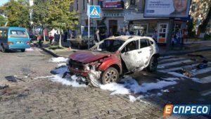 Нацполиция квалифицирует взрыв авто, в котором находился журналист, как умышленное убийство