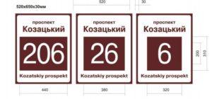 В Запорожье таблички с названиями улиц установят за 2 миллиона гривен - ФОТО