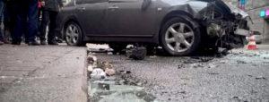 В Запорожской области пьяный водитель вылетел на тротуар и убил пешехода