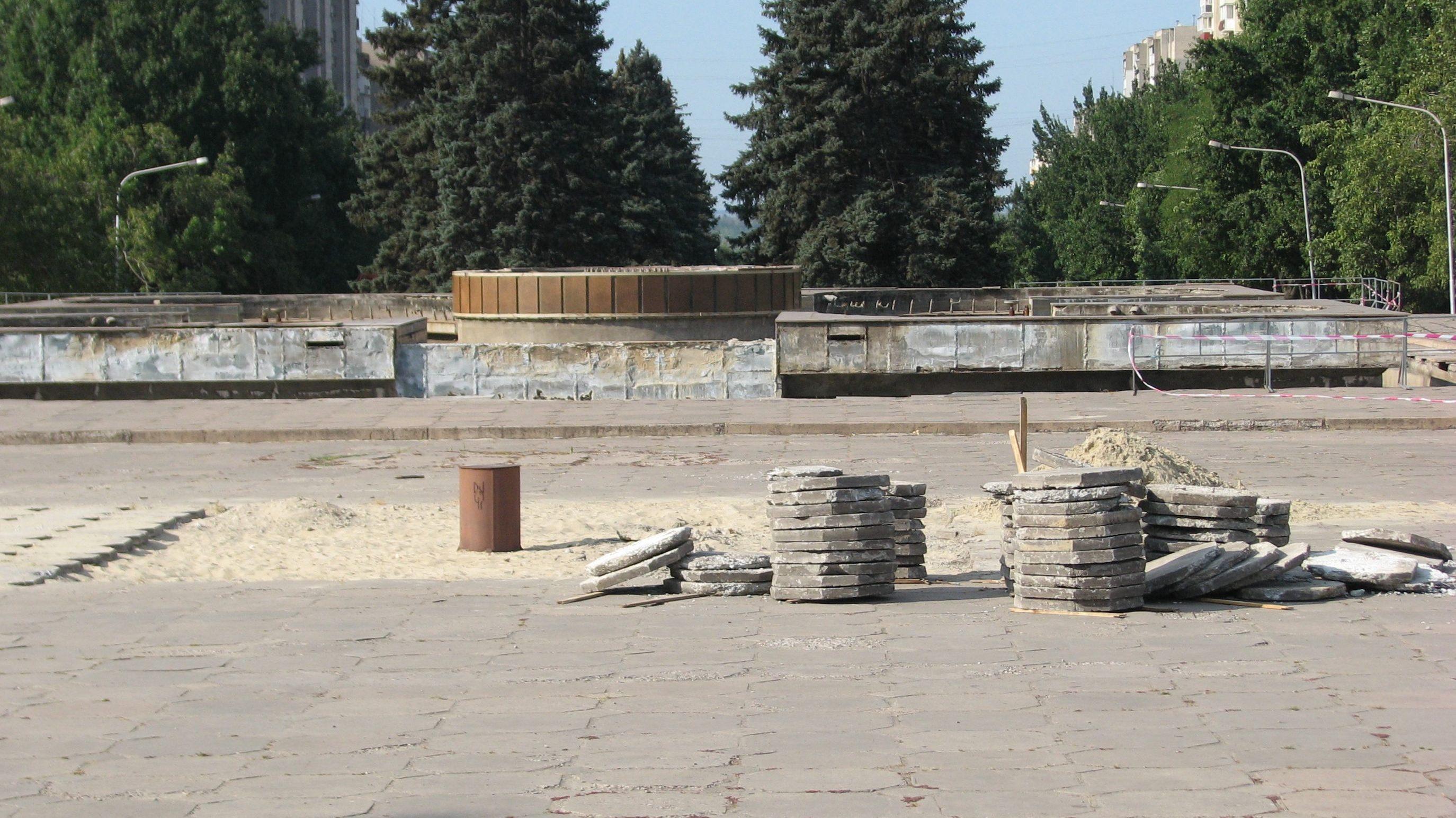 В Запорожье планируют реконструкцию площади Фестивальной за 100 миллионов