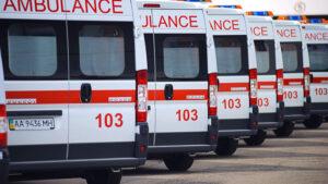 У Запорізькій області чоловіка госпіталізували до лікарні після падіння з мопеда