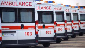 В Бердянске на пересечении столкнулись три машины: пострадал человек