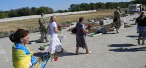 На Кушугумском кладбище идентифицировали еще троих погибших бойцов АТО