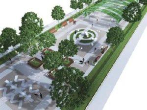 От площади Маяковского до «Радуги» - в Запорожье появится новая пешеходная зона