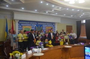 Паралимпийцы получили ордены за заслуги перед Запорожским краем - фото