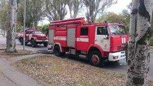 В Шевченковском районе загорелось общежитие