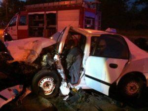 В ночном ДТП пострадали 3 человека