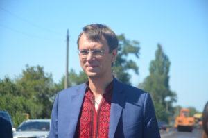 Министр инфраструктуры увидел состояние запорожских дорог - ФОТО