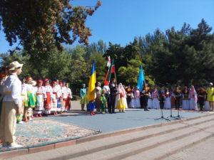 В Запорожье состоялся татарский «Сабантуй» - ФОТО