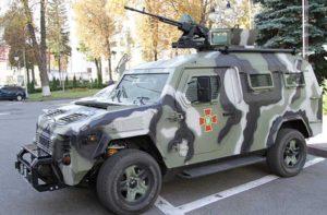 Запорожские конструкторы разработали беспилотный военный автомобиль