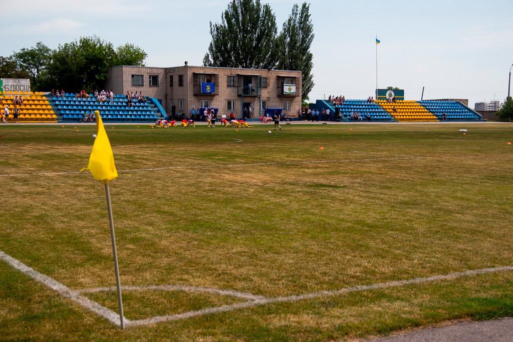 В Запорожской области стадион отремонтируют почти за 1,5 млн гривен