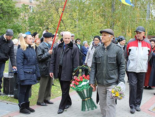 В Мелитополе прошел митинг в честь  Дня освобождения города