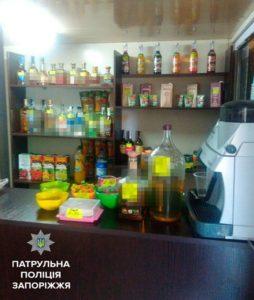 В запорожском магазине незаконно продавали алкоголь - ВИДЕО
