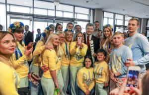 Президент отметил запорожских паралимпийцев государственными наградами