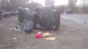В Запорожье произошло еще одно смертельное ДТП - ФОТО