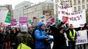 В Польше протестуют против зоны свободной торговли
