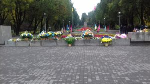 В Запорожье состоялся митинг ко Дню освобождения города - ФОТО