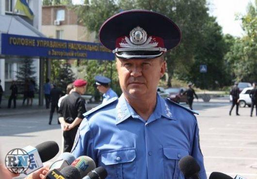 Глава Нацполиции Запорожской области уходит в отставку