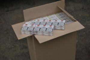 В Запорожье сожгли более полумиллиона пачек сигарет