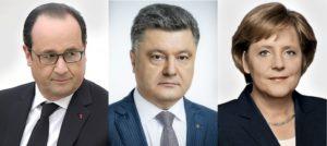 Порошенко хочет заставить Путина выполнить Минские соглашения