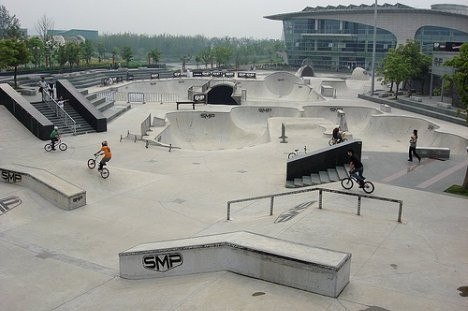 Запорожцы хотят, чтобы в городе появился экстрим-парк