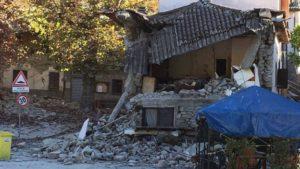 В центре Италии прошло землетресение, которое привело к серьезным разрушениям