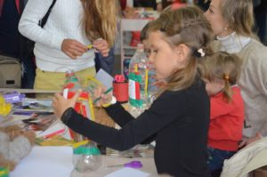 Маленькие запорожцы погрузились в мир творчества и веселья