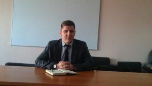 Депутат Дмитрий Серый: «Я узнал, что меня исключили из фракции «Укроп» от журналистов»