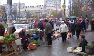 Стихийных рынков в Запорожье станет меньше