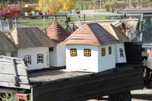 В Вознесеновском парке появится миниатюра «Запорожской Сечи» (фото)