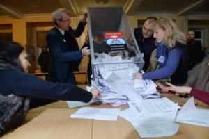 В Запорожском облсовете  против проведения выборов в Донецкой и Луганской областях