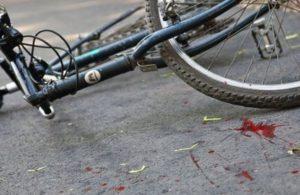 Водитель автомобиля переехал насмерть велосипедиста