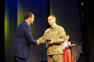 Запорожские военные получили награды по случаю Дня защитника Украины