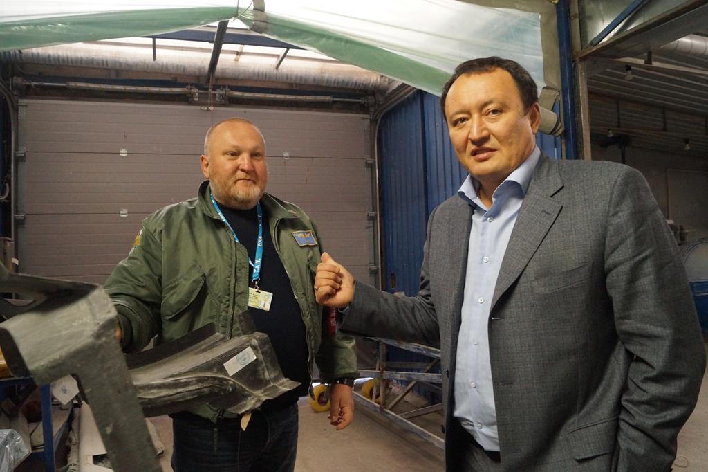 Летчики из Запорожской области будут сотрудничать с Казахстаном