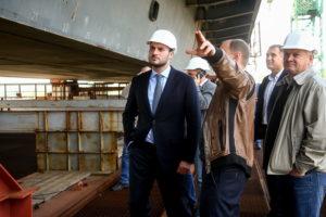 На строительстве запорожских мостов появился первый прогресс (фото)