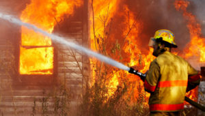 В Запорожской области в сгоревшем доме нашли тело мужчины