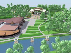 В Запорожье ищут лучшего архитектора для Дубовой рощи