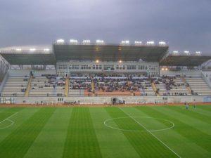 На стадионе «Славутич-арена» поменяют освещение за миллион гривен