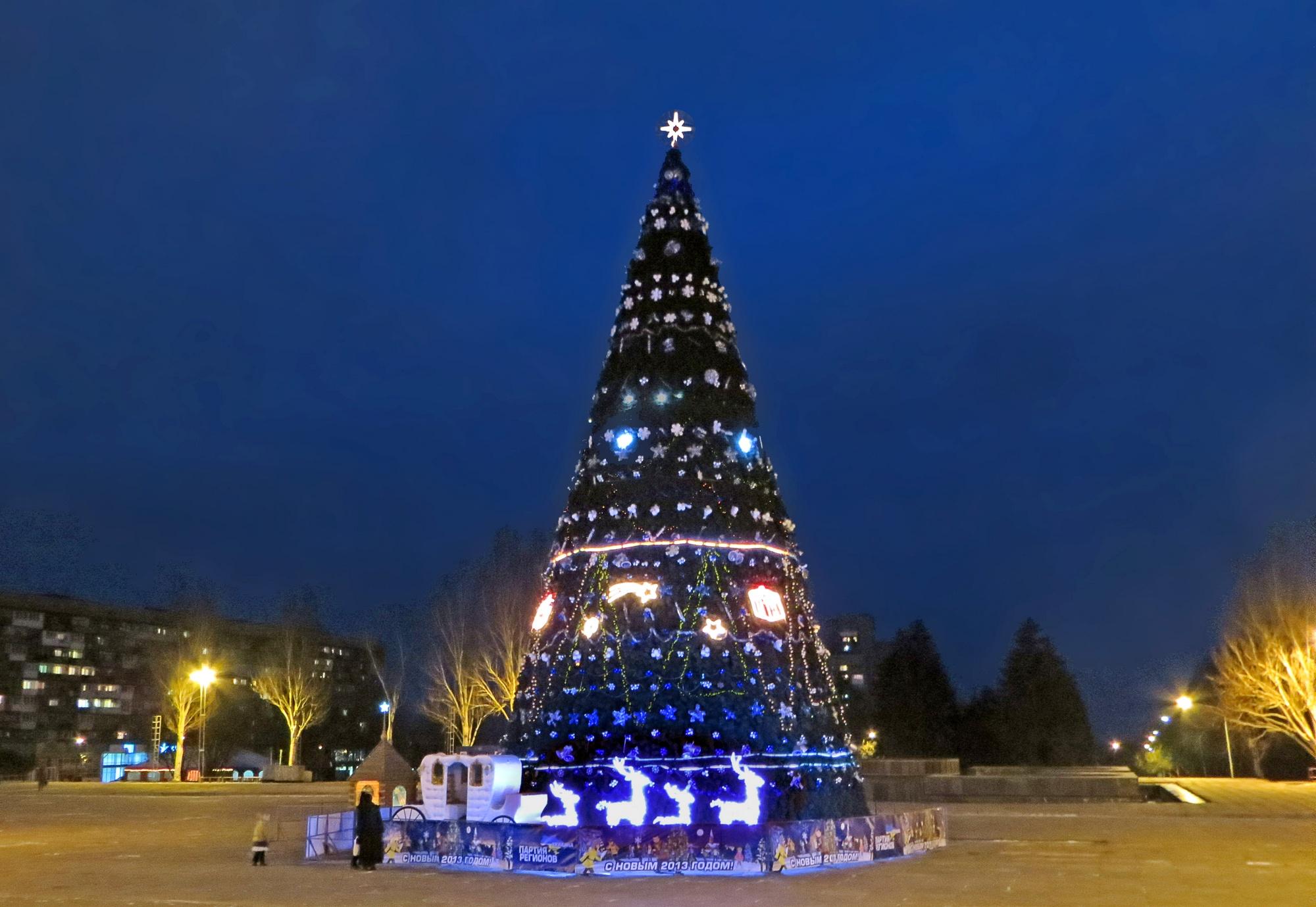 На подготовку к новогодним праздникам в Запорожье потратят 600 тысяч гривен