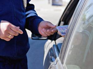 Запорожские патрульные задержали водителя-наркомана