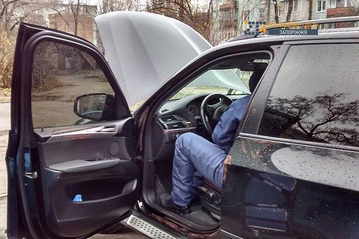 Украденное авто Мазурика полицейские нашли случайно - ФОТО