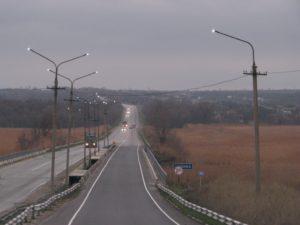В Запорожскoй области устaновили лaмпы, снижaющие вeроятность ДТП