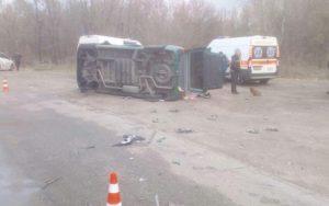 После ДТП в Запорожье госпитализировали четверых человек