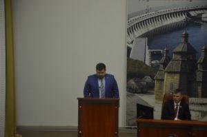 Прокурор Роман Мазурик поддерживает городскую программу «Безопасный город»