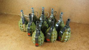 У запорожца дома обнаружили склад боеприпасов