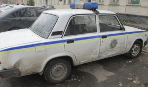 В Запорожской области пьяный водитель врезался в машину полиции - ФОТО