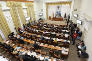 Депутаты горсовета решали, как уменьшить выбросы парниковых газов