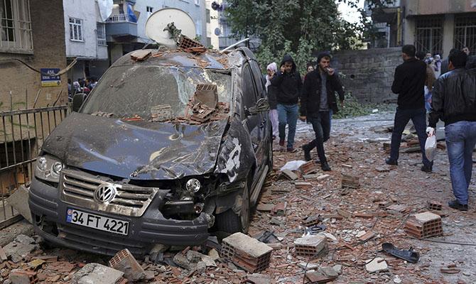 В Турции новый взрыв, среди погибших двое детей