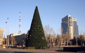 Новорічну ялинку за півтора мільйона гривень встановлять на площі Героїв Майдану