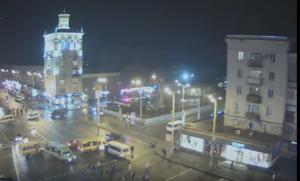 В центре Запорожья столкнулись маршрутки - ВИДЕО